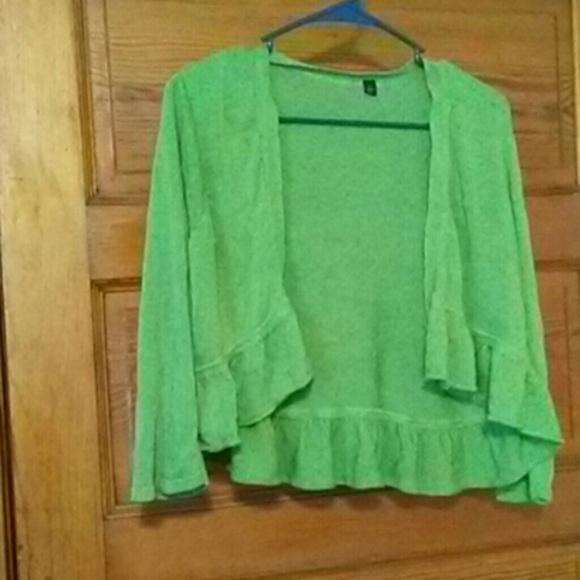 Jackets & Blazers - Open sweater